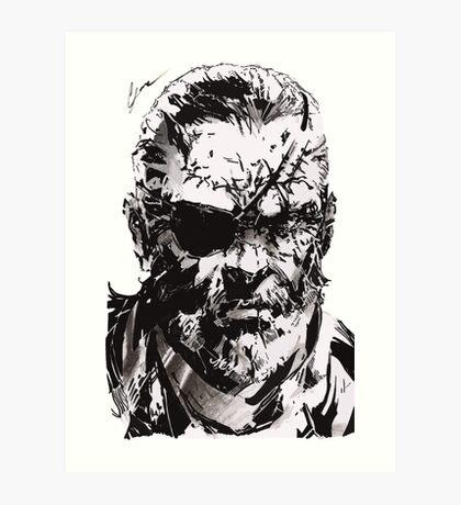 Big Boss - Metal Gear Solid Art Print