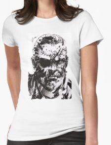 Big Boss - Metal Gear Solid Womens Fitted T-Shirt