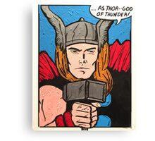 Mighty Thor Canvas Print