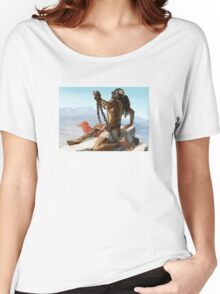 2 Chained to the Rocks Women's Relaxed Fit T-Shirt