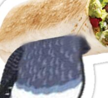 Jeremy the Flying Burrito Sticker