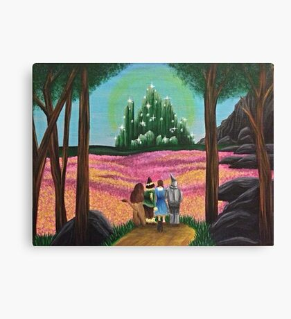 Off to see the wizard Canvas Print