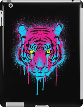 CMYK Tiger Graffiti by R-evolution GFX