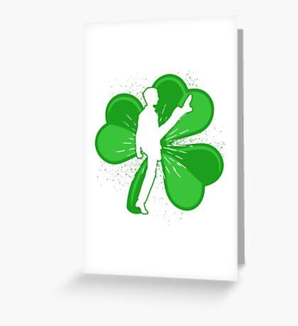 Shamrock Irish Dancer Greeting Card