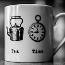tea time  by Tony Day