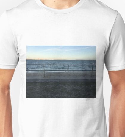 Brighton Le Sands beach, Sydney, NSW, Australia  Unisex T-Shirt