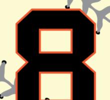 Hunter Pence Baseball Design Sticker