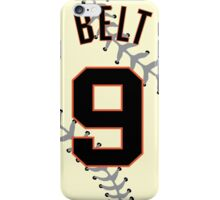 Brandon Belt Baseball Design iPhone Case/Skin
