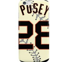 Buster Posey Baseball Design iPhone Case/Skin
