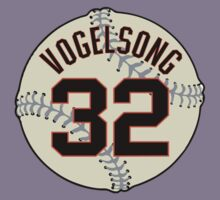 Ryan Vogelsong Baseball Design Kids Clothes