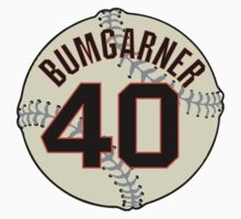 Madison Bumgarner Baseball Design by canossagraphics