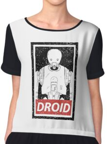 Droid Chiffon Top