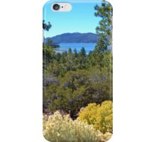 FALL COLORS SPECTACULAR IN BIG BEAR LAKE iPhone Case/Skin