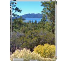 FALL COLORS SPECTACULAR IN BIG BEAR LAKE iPad Case/Skin