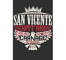San Vicente Cockpit Arena Photographic Print