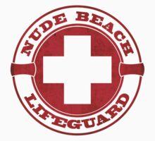 Nude Beach Lifeguard Kids Clothes