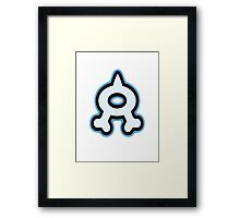 Pokemon - Team Aqua Logo Framed Print