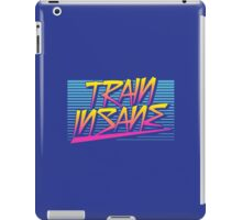 Train Insane Retro iPad Case/Skin