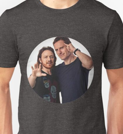 Fassbender and McAvoy Unisex T-Shirt