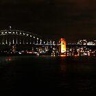 Sydney Harbour Bridge At Night by Evita