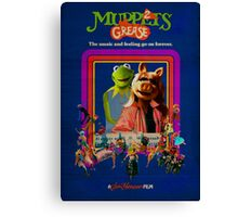 The Muppets Grease 2 Canvas Print