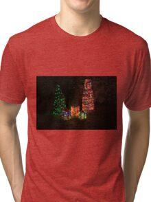 Happy Holidays 5 Tri-blend T-Shirt