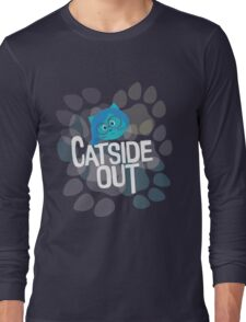 Catside out, katness Long Sleeve T-Shirt