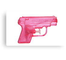 Water Gun Canvas Print