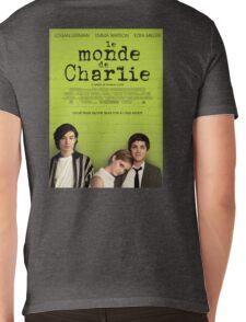 Le Monde De Charlie Affiche Mens V-Neck T-Shirt