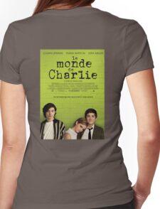 Le Monde De Charlie Affiche Womens Fitted T-Shirt