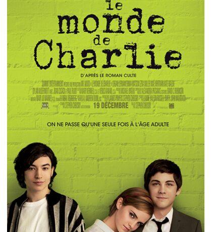 Le Monde De Charlie Affiche Sticker