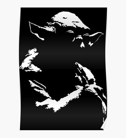 Star Wars Yoda Minimal  Poster