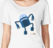 Robot stepped in shit Women's Relaxed Fit T-Shirt