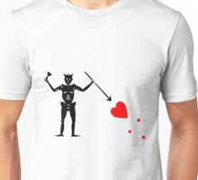 Pirate Flag Blackbeard Edward Teach Unisex T-Shirt