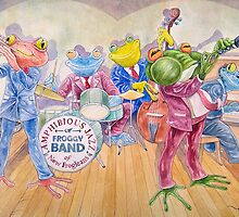 Froggy Band (Phone & Tablet Cases) by Wil Zender