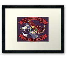 Slay Together, Stay Together - Bayonetta & Jeanne Framed Print