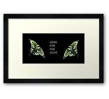 The Last Of Us - Ellie tattoo firefly colored Framed Print