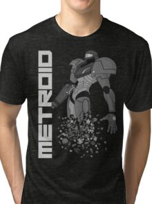 Turning to Zero (Greyscale) Tri-blend T-Shirt