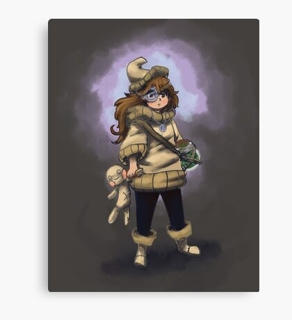Doll Witch Canvas Print