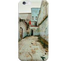 Abandoned Building with Red Bricks iPhone Case/Skin