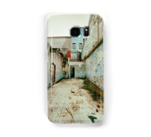 Abandoned Building with Red Bricks Samsung Galaxy Case/Skin
