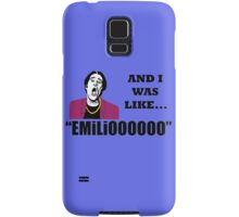 EMILIOOOOoooo Samsung Galaxy Case/Skin
