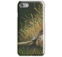 Pheasants in Field iPhone Case/Skin