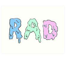 r a d  Art Print