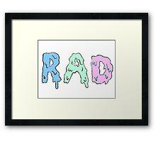 r a d  Framed Print