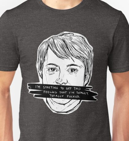 Peep Show | Mark | Green Unisex T-Shirt