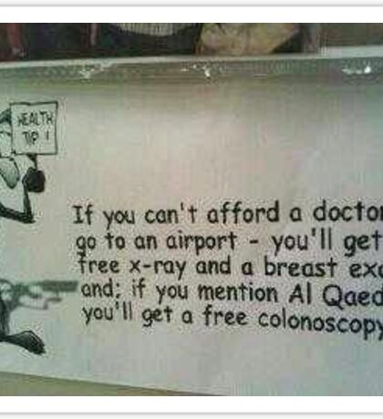 If you can't afford to go to the Doctor Sticker