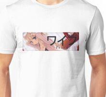 Waifu - Japanese Anime Car Scene Slap Sticker Unisex T-Shirt