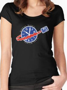 TARDIS Space! Women's Fitted Scoop T-Shirt