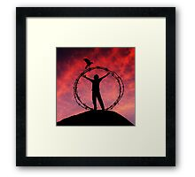 Canon Of Freedom Framed Print